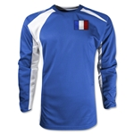 France Gambeta LS Soccer Jersey (Royal)