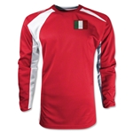 Italy Gambeta LS Soccer Jersey (Red)