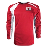 Japan Gambeta LS Soccer Jersey (Red)