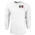 Mexico Gambeta LS Soccer Jersey (White)