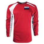 Russia Gambeta LS Soccer Jersey (Red)