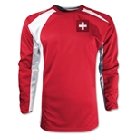 Switzerland Gambeta LS Soccer Jersey (Red)