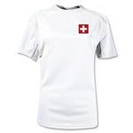 Switzerland Gambeta Women's Soccer Jersey (White)