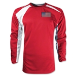 USA Gambeta LS Soccer Jersey (Red)