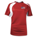 USA Gambeta Women's Soccer Jersey (Red)