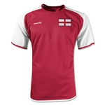 England Torino Soccer Jersey (Red)