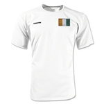 Cote d'Ivoire Torino Soccer Jersey (White)