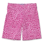 Yale Women's Compression Lacrosse Short 6 (Pink)