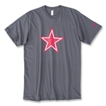 Objectivo Ultras Football Revolution Star T-Shirt (Dk Grey)