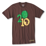 Objectivo Ultras 2010 South Africa Ball Shirt T-Shirt (Brown)
