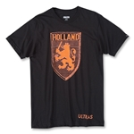 Objectivo Ultras Holland Lion Crest T-Shirt (Black)