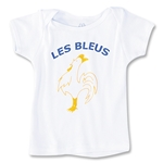 France Les Bleus Infant T-Shirt (White)