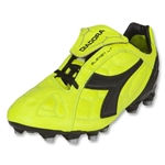 Diadora DD Eleven LT MG 14 Soccer Shoes (Fluo Yellow/Black)