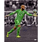 Steiner Sports Tim Howard Signed Kick 16x20 Photo (JSA)