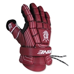 Brine King Superlight Lacrosse Goalie Gloves 13 (Maroon)
