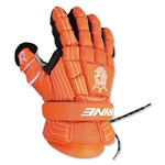 Brine King Superlight Lacrosse Goalie Gloves 13 (Orange)