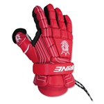 Brine King Superlight Lacrosse Goalie Gloves 13 (Red)