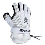 Brine King Superlight Lacrosse Goalie Gloves 13 (White)