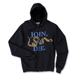 Objectivo USA Join or Die Soccer Hoody (Navy)