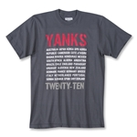 Objectivo Yanks 2010 T-Shirt
