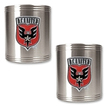 D.C. United 2 pc. Stainless Steel Can Holder Set