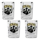Columbus Crew 4 pc. Square Shot Glass Set