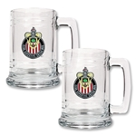 Chivas USA 2 pc 15 Glass Tankard Set