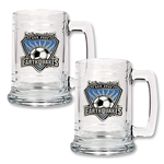 San Jose Earthquakes Two Piece 15 oz. Tankard Set