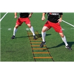 Kwik Goal Hi Vis Agility Ladder (Orange)