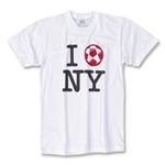 Objectivo I Love NY Soccer T-Shirt (White)