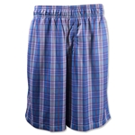 Warrior Caddi Shac Lacrosse Shorts (Navy/Red)