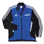 adidas Serevi Tiro II Training Jacket (Royal)