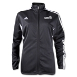 adidas Serevi Women's Tiro II Training Jacket (Black)