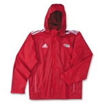 adidas Las Vegas Invitational Basic Rain Jacket (Red)
