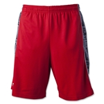 Warrior Ain't So Basic Lacrosse Shorts (Red)