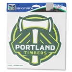 Portland Timbers 8x8 Decal