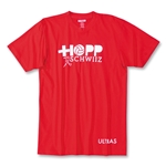 Objectivo Ultras Hopp Schwizz Switzerland T-Shirt (Red)