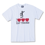 I Heart/Heart/Heart Hat Tricks T-Shirt