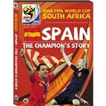 Spain 2010-The Champion's Story DVD