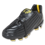 Pele Sports 1962 FG KIDS Soccer Shoes (Black/Yellow)
