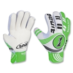 Rinat Extra Safe KIDS Keeper Gloves (White/Green)