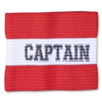 Captain Junior Striped Armband (Red)