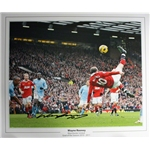 Signed Wayne Rooney Manchester United Photo