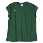 Warrior Essence Cap Sleeve Game Lacrosse Jersey (Dark Green)