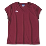 Warrior Essence Cap Sleeve Game Lacrosse Jersey (Maroon)