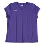 Warrior Essence Cap Sleeve Game Lacrosse Jersey (Purple)