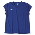 Warrior Essence Cap Sleeve Game Lacrosse Jersey (Royal)