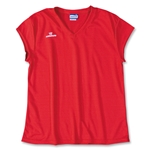 Warrior Essence Cap Sleeve Game Lacrosse Jersey (Red)