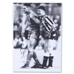 Signed Paul Gascoigne Photo