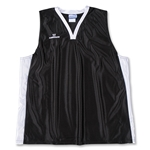 Warrior Lotus Racerback Game Lacrosse Jersey (Blk/Wht)